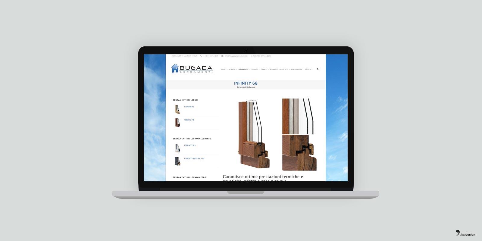 Bugada - sito web responsive