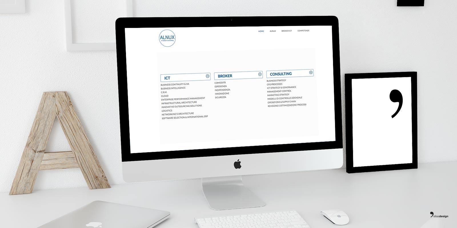 Alnux - Sito Web