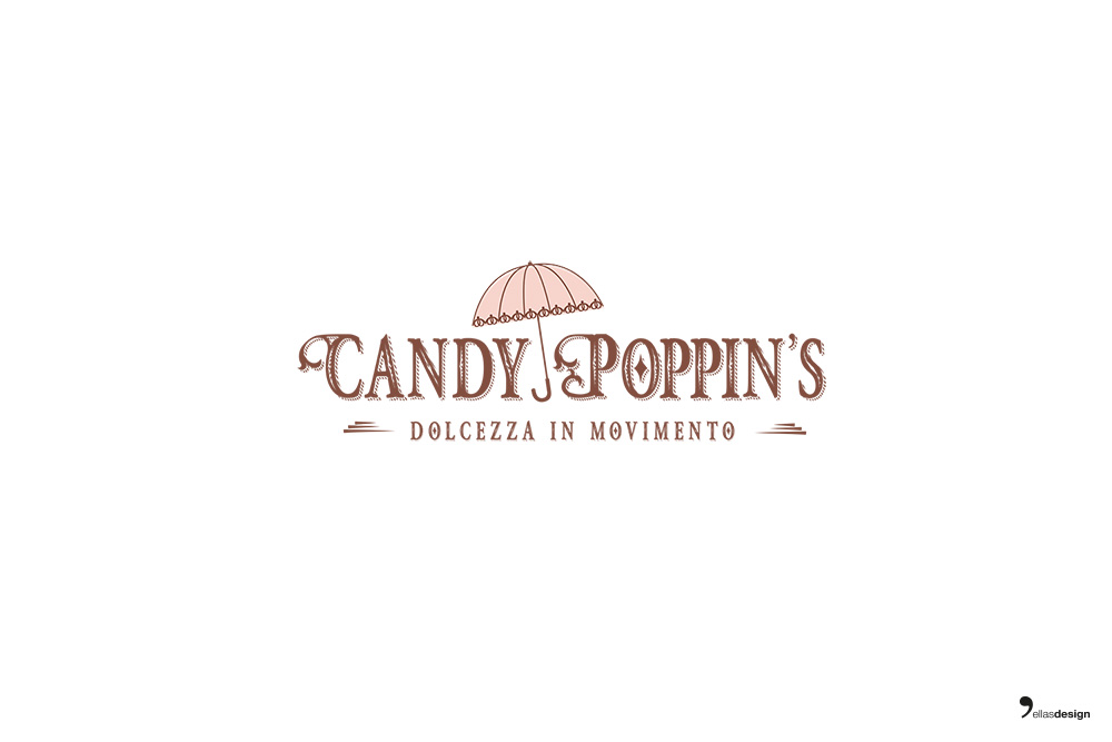 Candy Poppin's - logo e design stand