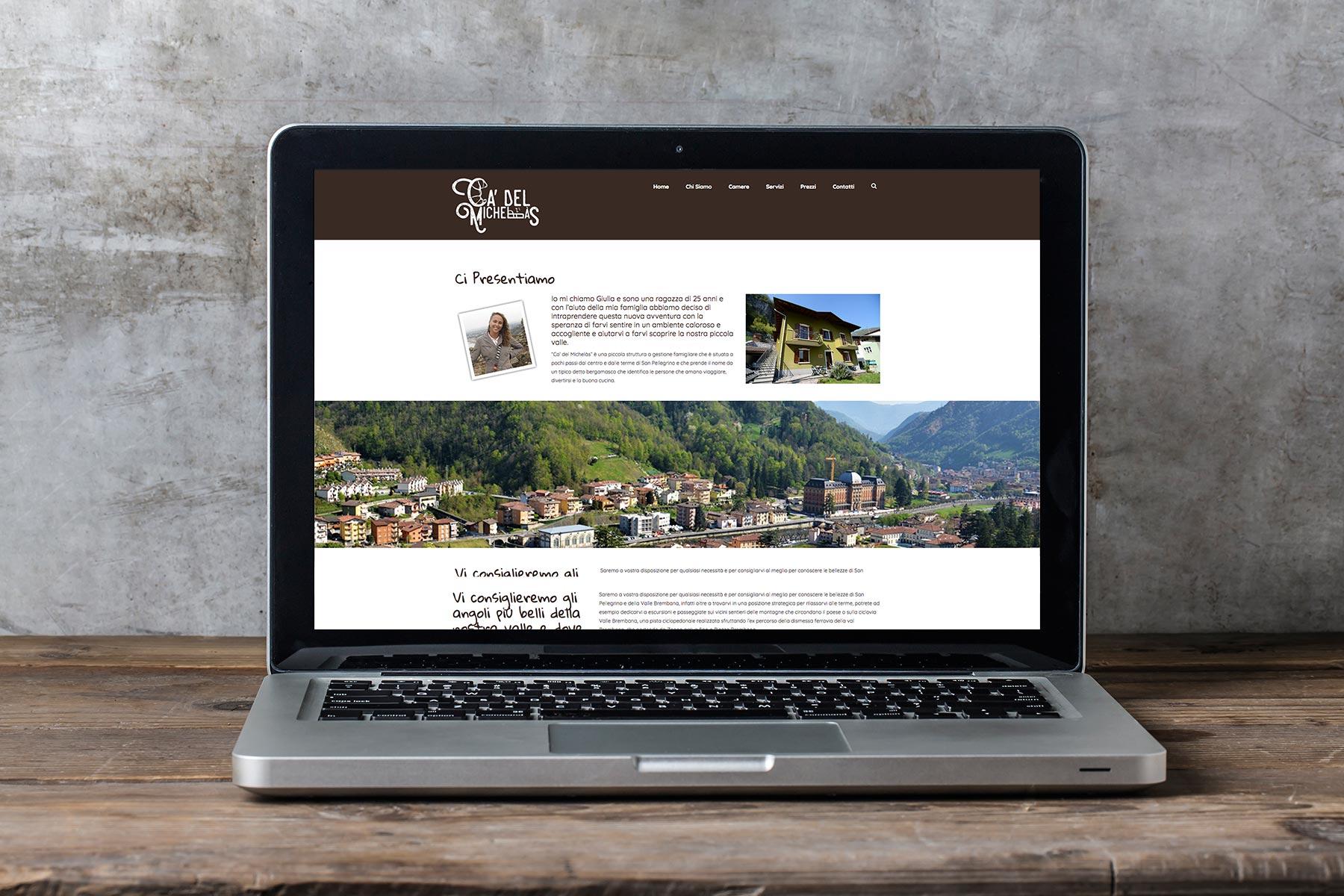 Ca del Michelas – sito web