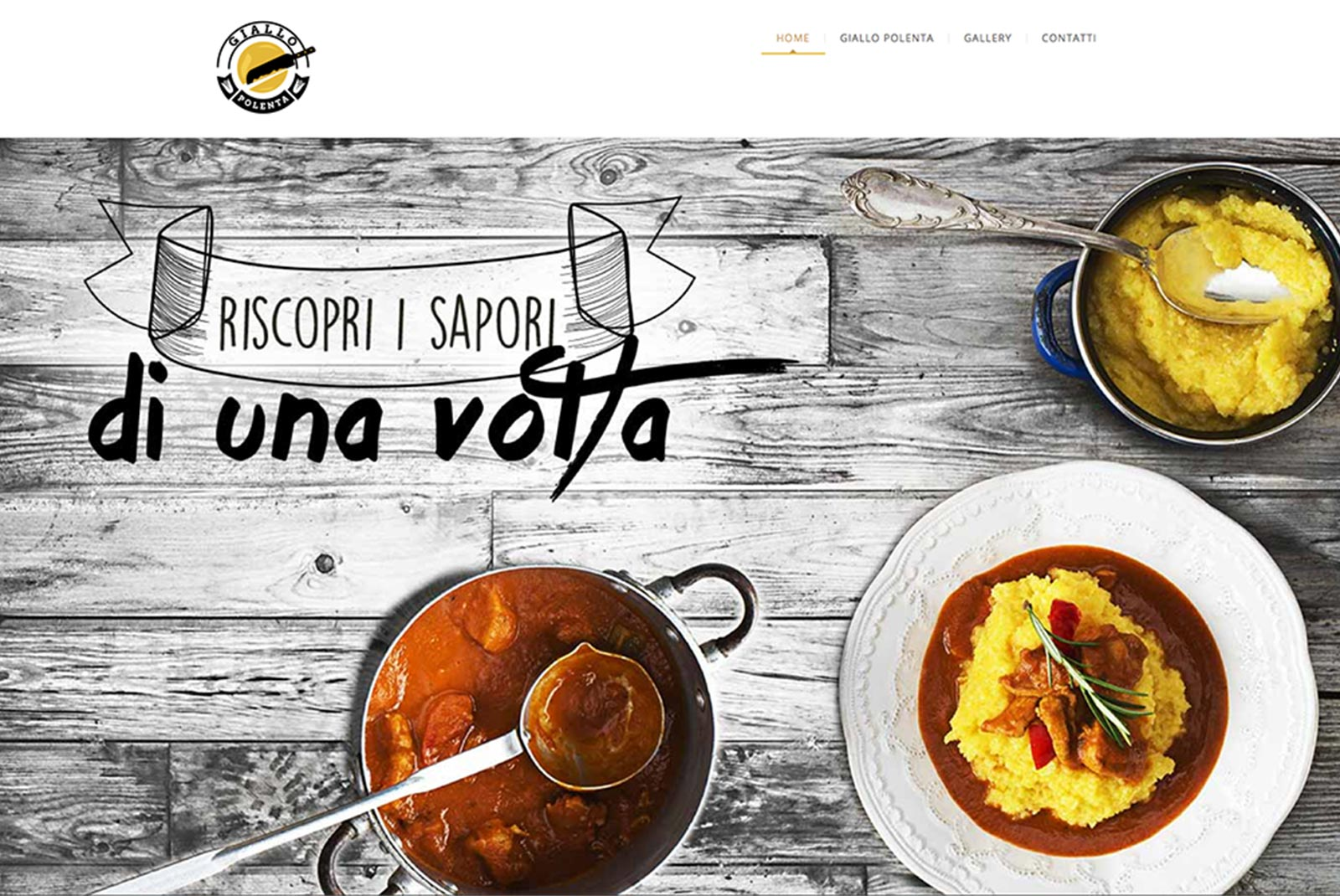 GialloPolenta - sito responsive