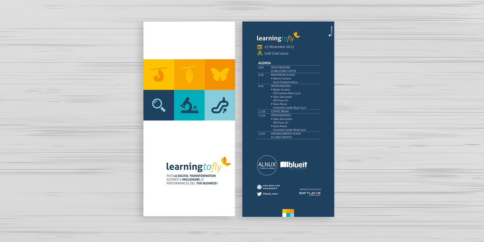 Learning to fly - Blueit e Alnux