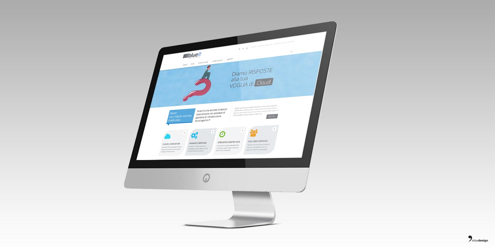 Blueit – sito web