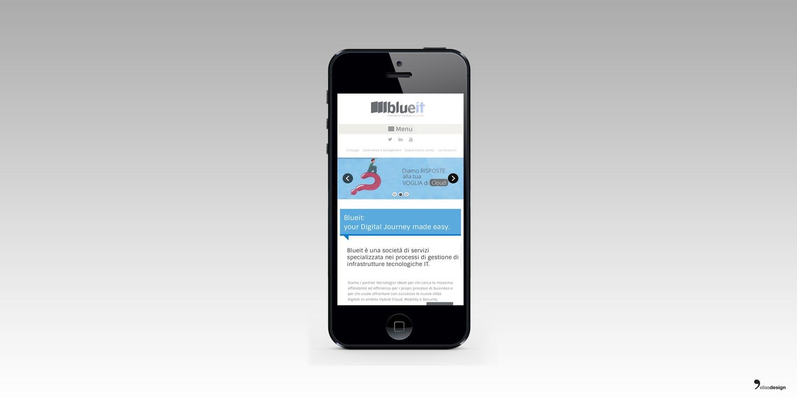 blueit - sito web responsive