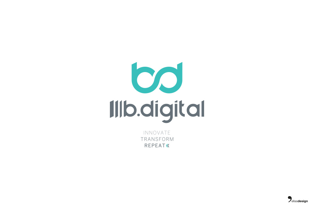 b.digital - studio logo