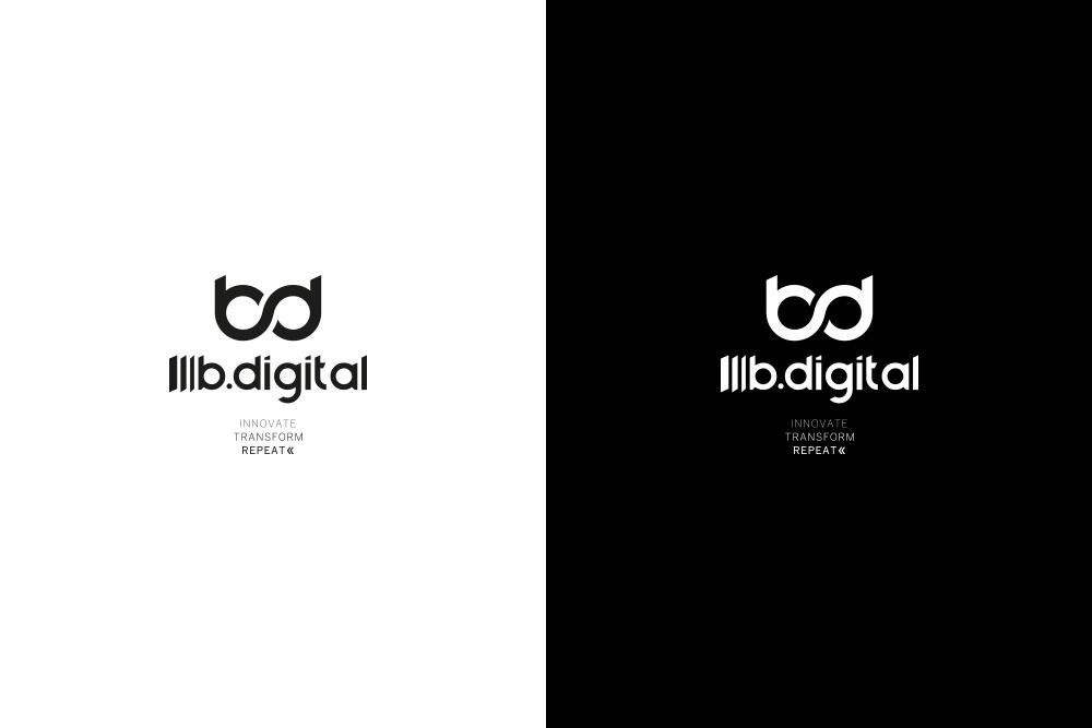 b.digital – studio logo