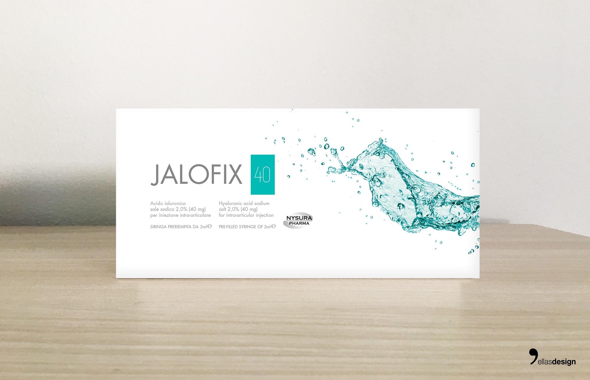 NYSURA PHARMA JALOFIX40 - Product Design