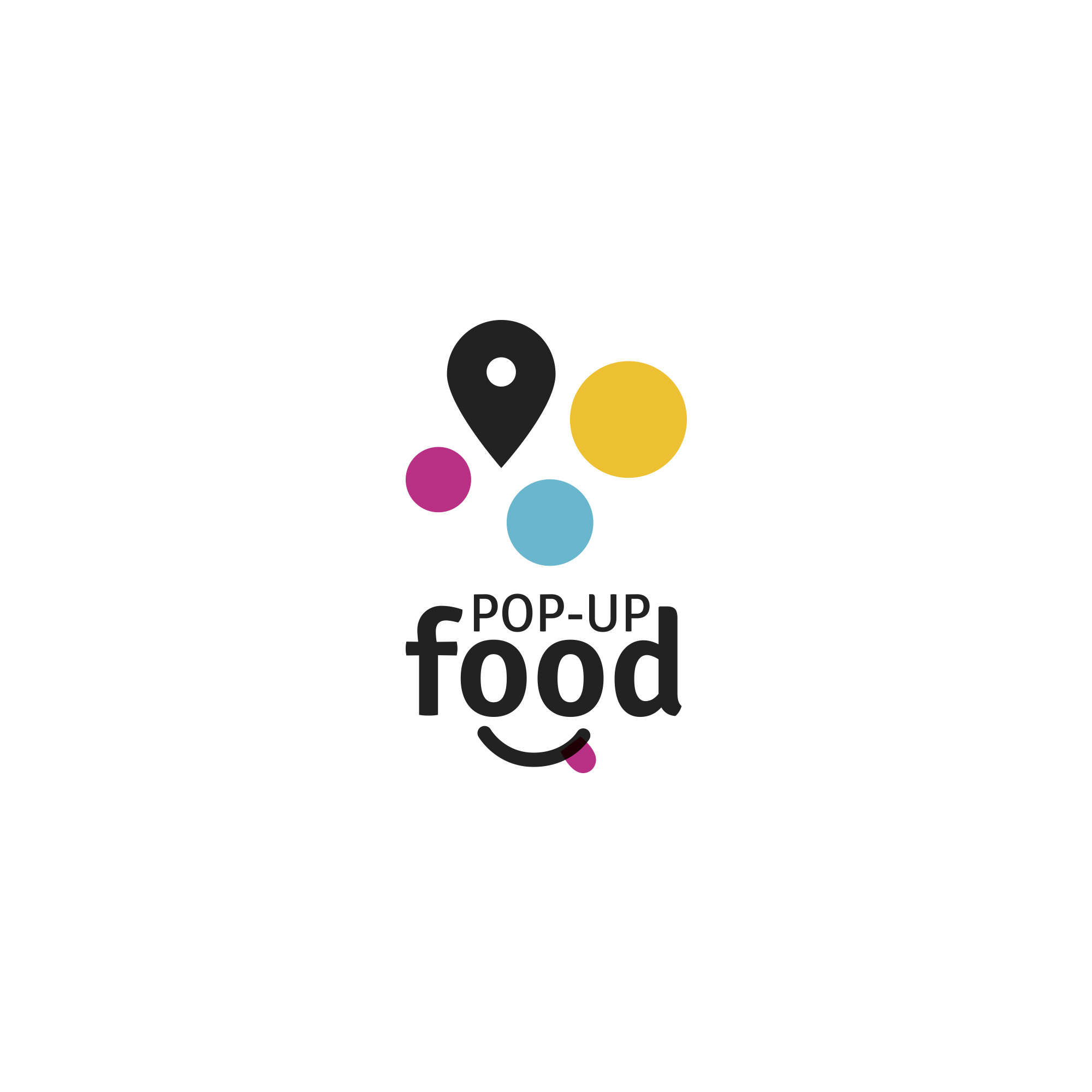POP-UP Food – logo design