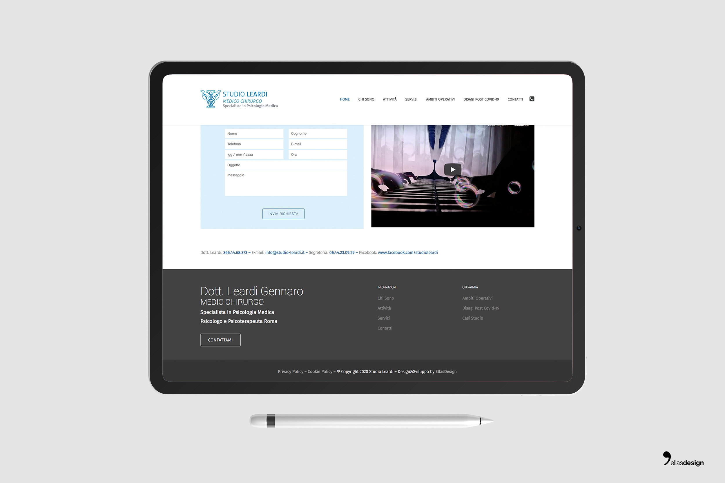 Studio Leardi – SitoWeb
