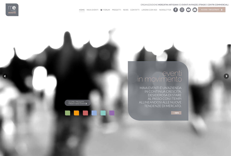 Maia Eventi – Sito Web