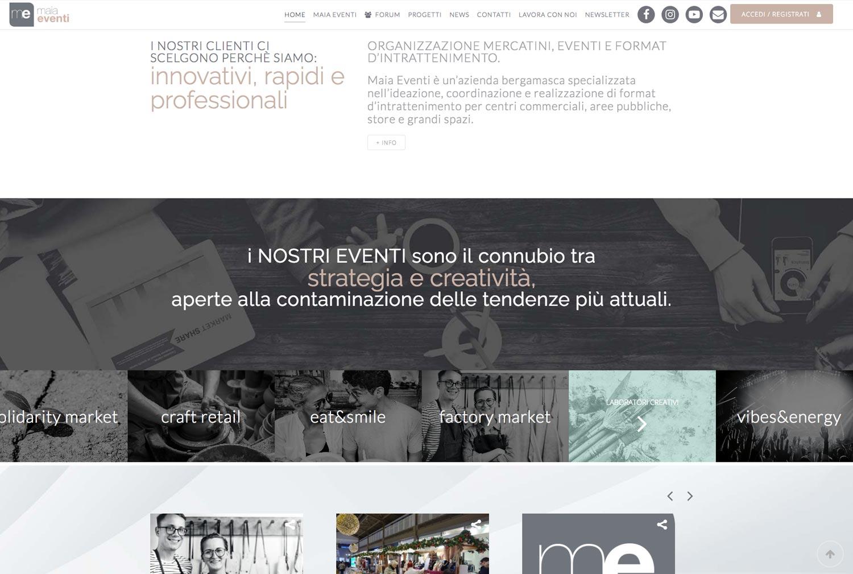 Maia Eveti SIto Web - Ellas Design