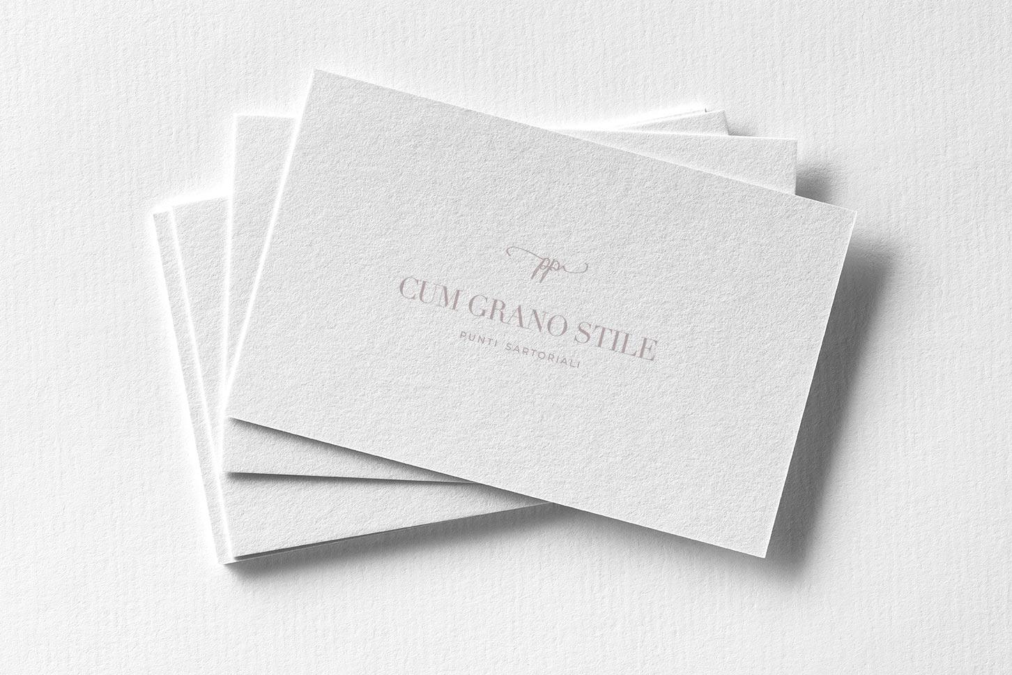 Ellas design - Logo Design Cum Grano Stile - Branding